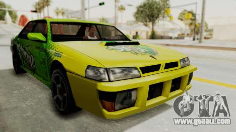 Sprunk Sultan for GTA San Andreas right view