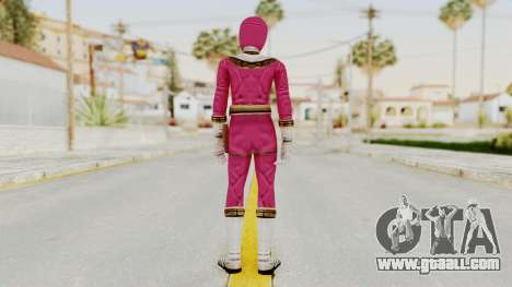 Power Ranger Zeo - Pink for GTA San Andreas third screenshot