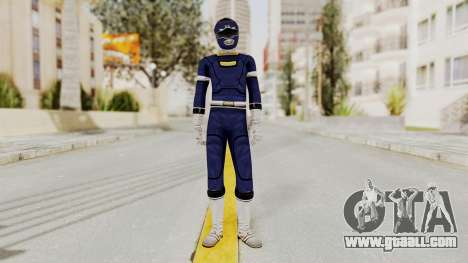 Power Rangers Turbo - Blue for GTA San Andreas second screenshot