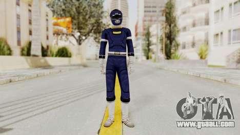 Power Rangers Turbo - Blue for GTA San Andreas second screenshot