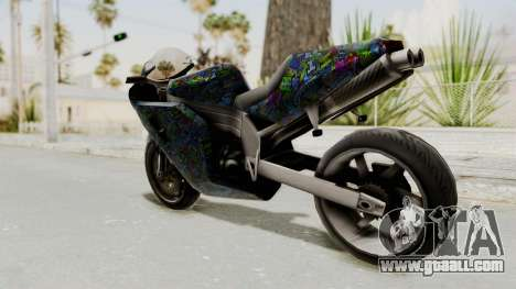 FCR-900 Stunt for GTA San Andreas left view