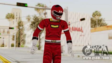 Power Rangers Turbo - Red for GTA San Andreas
