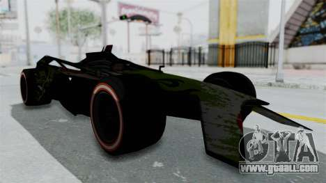 Bad to the Blade from Hot Wheels for GTA San Andreas right view