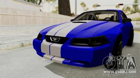 Ford Mustang 1999 Drag for GTA San Andreas back left view