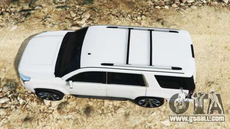 GTA 5 GMC Yukon Denali 2015 back view