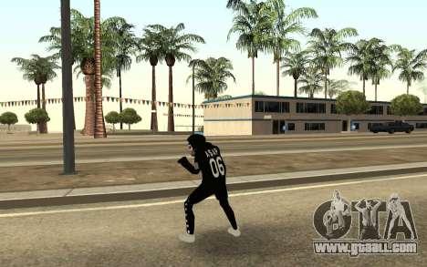 New homeless v4 for GTA San Andreas third screenshot