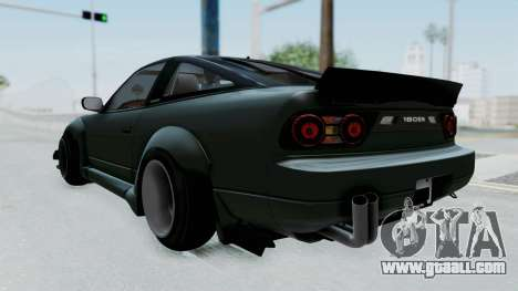Nissan Sileighty Rocket Bunny for GTA San Andreas back left view