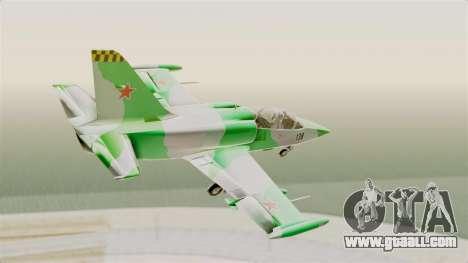 LCA L-39 Albatros for GTA San Andreas right view