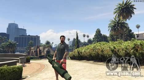 Weapon Variety 0.9 for GTA 5