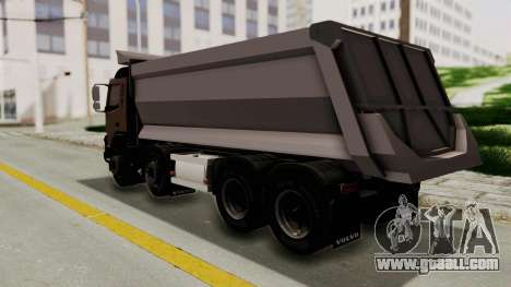 Volvo FMX Euro 5 8x4 v1.0 for GTA San Andreas left view