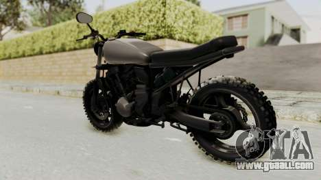 Mad Max Inspiration Bike for GTA San Andreas left view