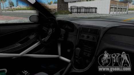 Ford Mustang 1999 Drift Falken for GTA San Andreas inner view