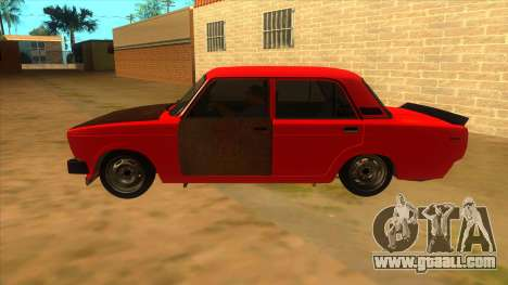 VAZ 2105 Combat Classics for GTA San Andreas left view