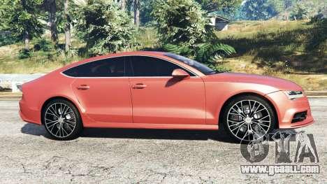 GTA 5 Audi A7 2015 left side view
