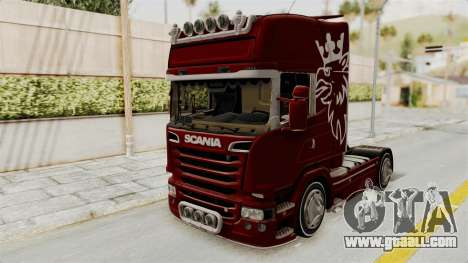 Scania R730 for GTA San Andreas right view
