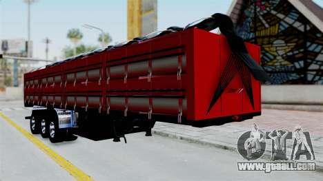 Kenworth T800 Carreta de Arena for GTA San Andreas
