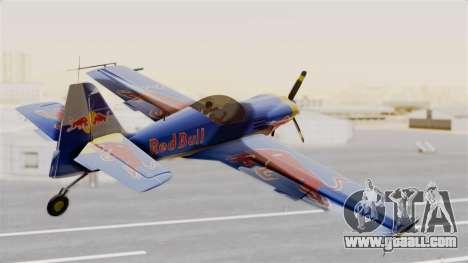 Zlin Z-50 LS Redbull for GTA San Andreas left view