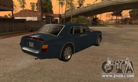 Rolls Royce Phantom for GTA San Andreas left view