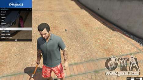 GTA 5 Weapon Variety 0.9 second screenshot