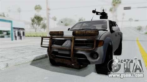 Mitsubishi L200 Army Libyan for GTA San Andreas