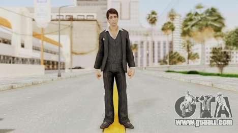 Scarface Tony Montana Suit v2 for GTA San Andreas second screenshot