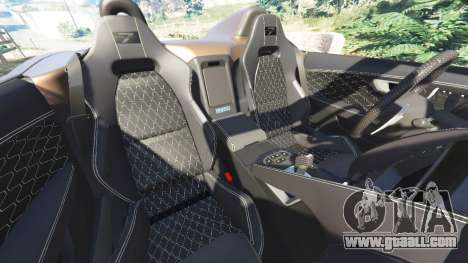 Jaguar F-Type Project 7 2016 for GTA 5