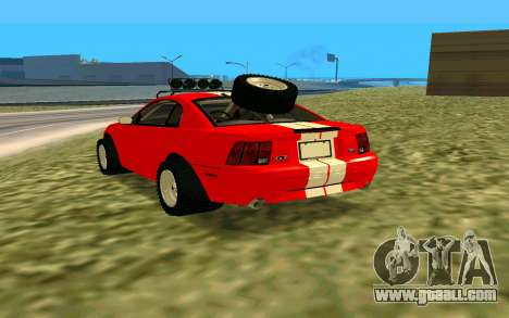 Ford Mustang 1999 for GTA San Andreas left view