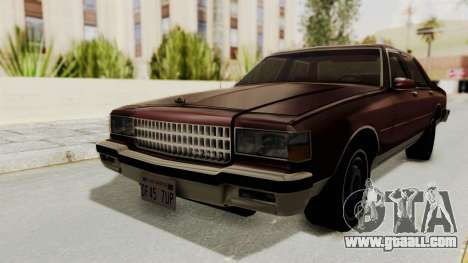 Chevrolet Caprice 1987 v1.0 for GTA San Andreas
