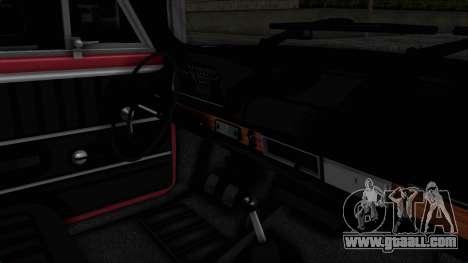 Tofas Murat 124 for GTA San Andreas inner view