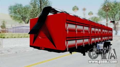 Kenworth T800 Carreta de Arena for GTA San Andreas right view