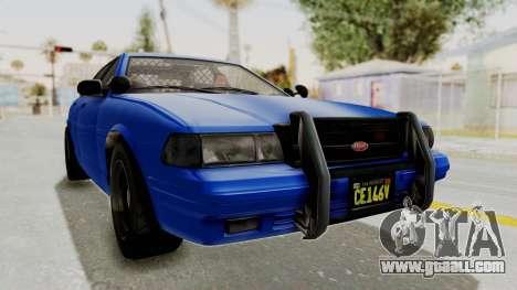 GTA 5 Vapid Stanier II Police Cruiser 2 for GTA San Andreas