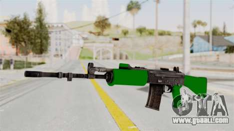 IOFB INSAS Dark Green for GTA San Andreas