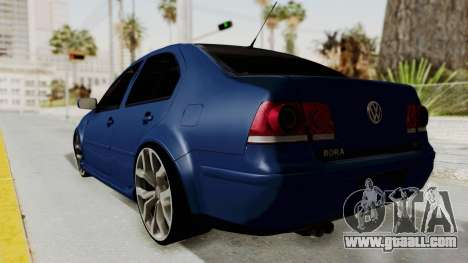 Volkswagen Bora 1.8T for GTA San Andreas left view