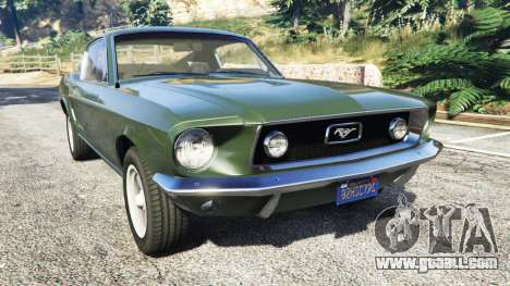Ford Mustang 1968 for GTA 5
