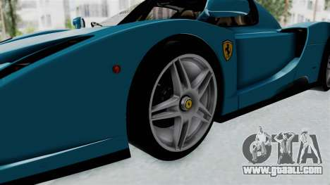 Ferrari Enzo for GTA San Andreas back view