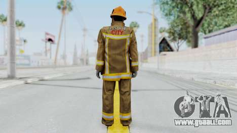 GTA 5 Fireman LS for GTA San Andreas third screenshot