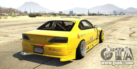 GTA 5 Nissan Silvia S15 Vertex rear left side view