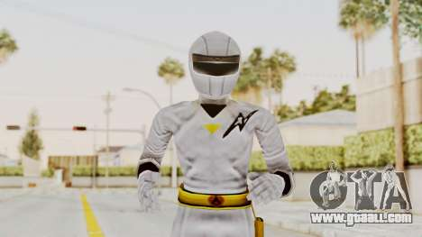 Alien Rangers - White for GTA San Andreas