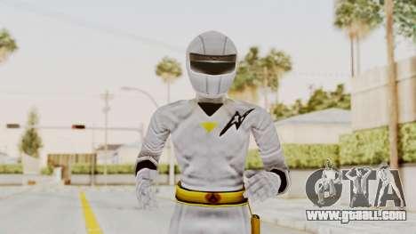 Alien Rangers - White for GTA San Andreas