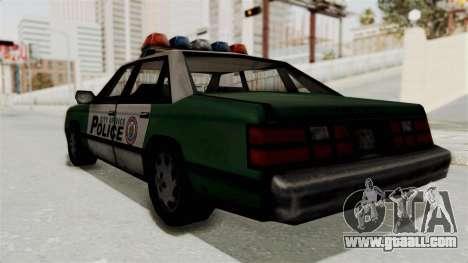 GTA VC Police Car for GTA San Andreas right view