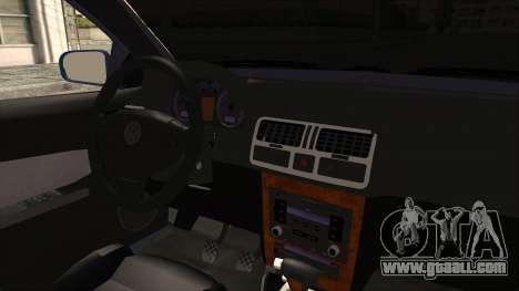 Volkswagen Bora 1.8T for GTA San Andreas inner view