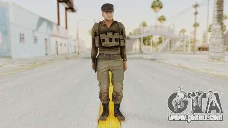 MGSV Phantom Pain Rogue Coyote Soldier Shirt v2 for GTA San Andreas second screenshot