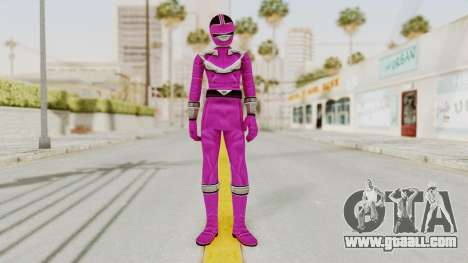 Power Rangers Time Force - Pink for GTA San Andreas second screenshot