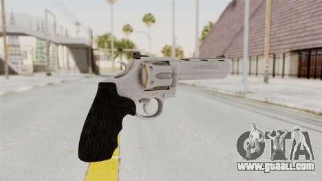 Colt .357 Silver for GTA San Andreas second screenshot