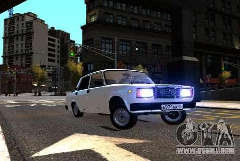 VAZ 2107 AzElow for GTA 4