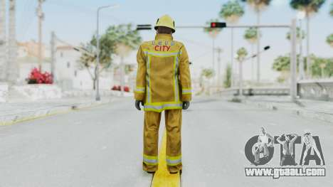 GTA 5 Fireman LV for GTA San Andreas third screenshot