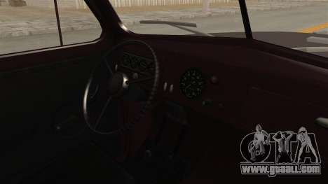 UAZ-300 IVF for GTA San Andreas inner view