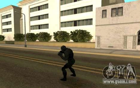 Black Panther confrontation for GTA San Andreas third screenshot