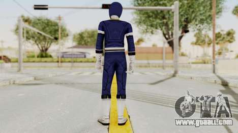 Power Rangers Turbo - Blue for GTA San Andreas third screenshot