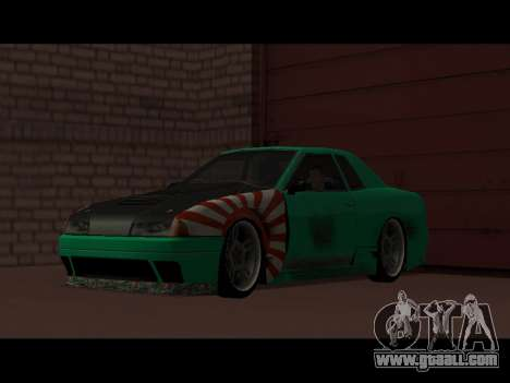 Elegy Paintjob JDM for GTA San Andreas right view